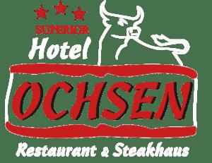 Logo weiß Hotel Restaurant Ochsen in Bad Saulgau