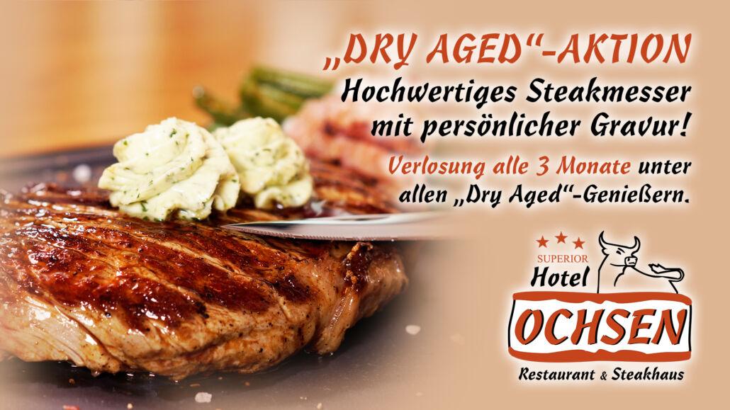 Aktionstag Dry Aged Steakmesser Hotel Restaurant Ochsen in Bad Saulgau