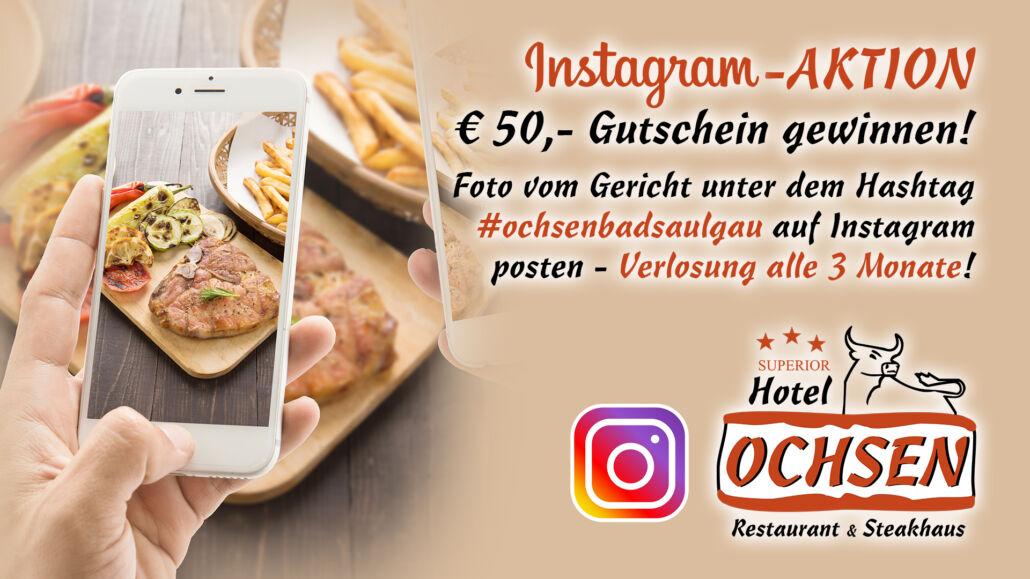 Aktionstag Instagram Aktion Hotel Restaurant Ochsen in Bad Saulgau