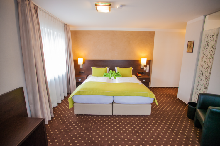 Deluxe Doppelzimmer Zimmer Hotel Restaurant Ochsen in Bad Saulgau