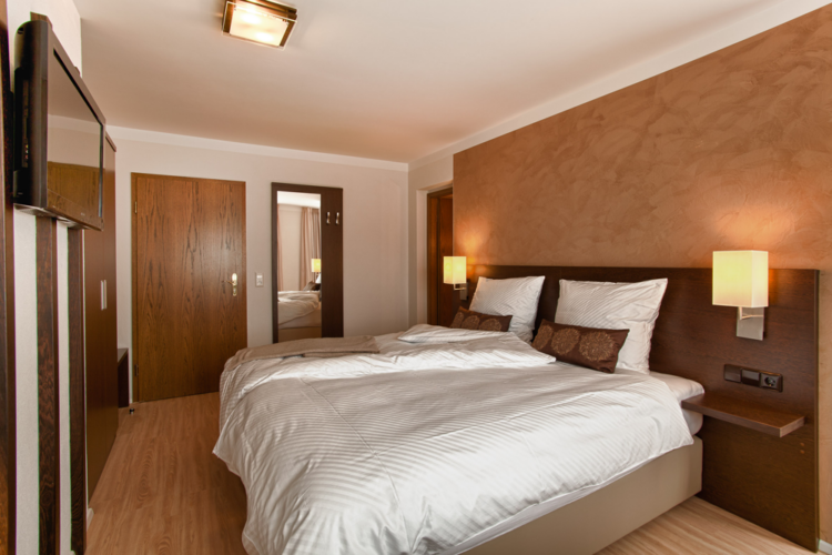 Komfort Doppelzimmer Zimmer Hotel Restaurant Ochsen in Bad Saulgau